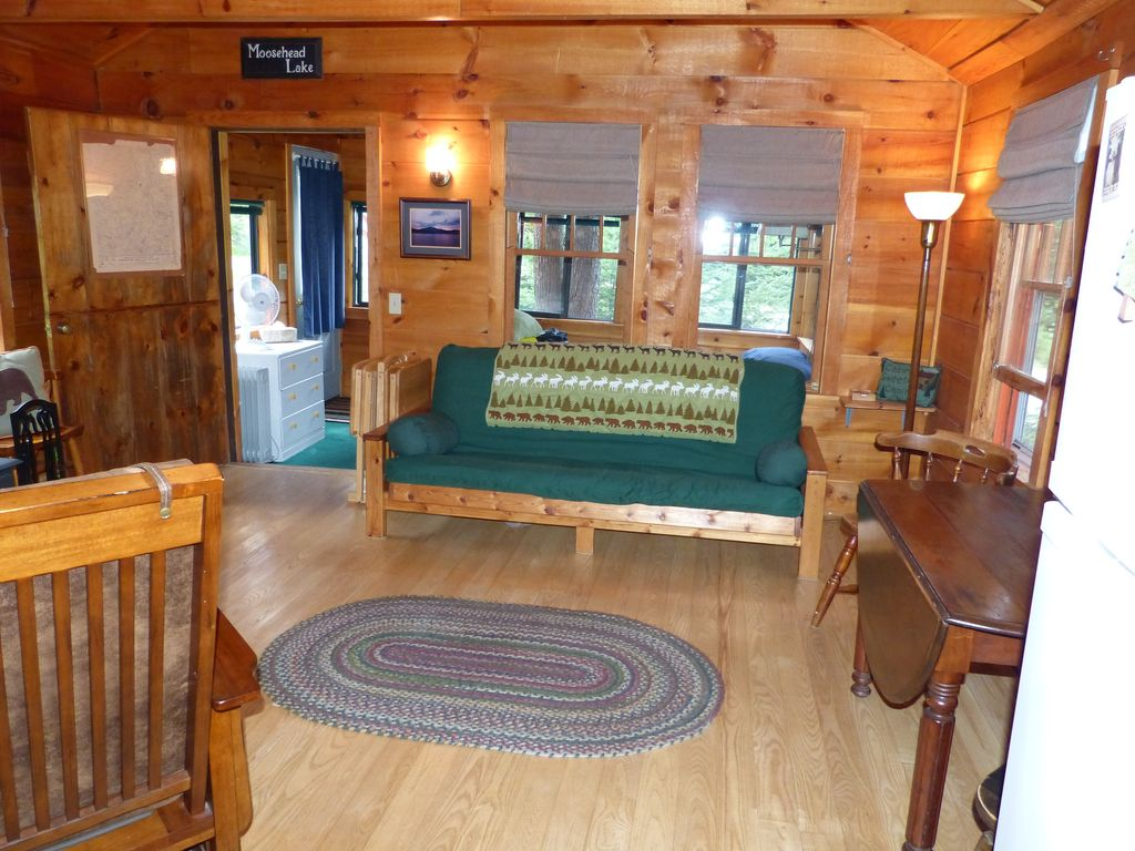 cozy cabin in greenville me access homeaway greenville
