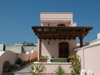 Photo for Apartments in the context of a Villa 900m from the sea S. Maria di Leuca