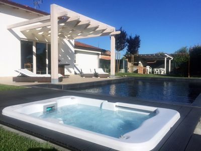Photo for COURT OF FABBRI: AP02 in Luxury Villa whit Black pool & Jacuzzi