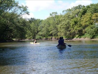 float or fish the Little Sioux River in one of our canoes or kayaks