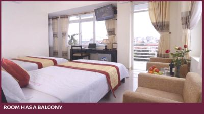 "Photo for Canary Hotel-Room has Balcony with Hue City View - ""Easy walking"" to visit [61]"