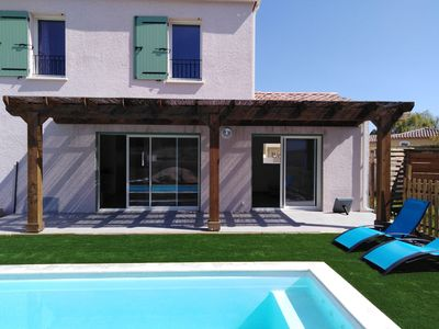 Photo for House with pool 25 minutes from the sea