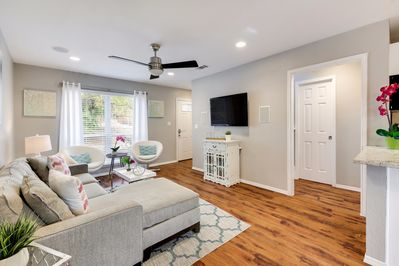 Unit B - Relax in style in this comfortable living area