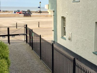 Photo for BAYVIEW 5  2 Bedroom Modern Seafront Apartment Newly Refurbished HERNE BAY