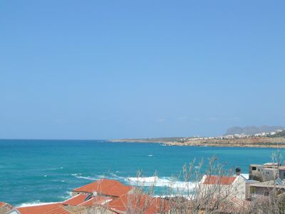 Photo for Vaggelio House, 3 Bedroom with sea view at Halepa