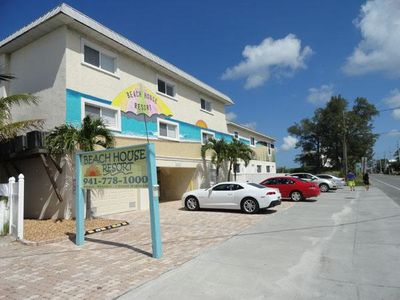 Photo for Gulf Front Ground Floor Condo w/ Free WiFi & Private Screened Lanai