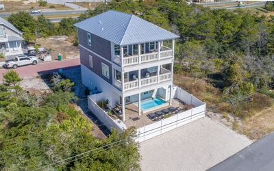 Photo for Sand In My Soul -Inlet Beach Home, private pool, close to beach, 4 bikes