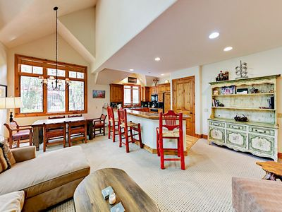 Photo for Chic 3BR in Exclusive Arrowhead Village - Private Lift, Pool, Spa & Fire Pit