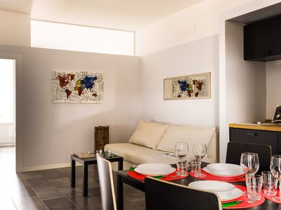 Photo for Trivulzio/82544 - Modern and quite 1 bedroom apt in Milan