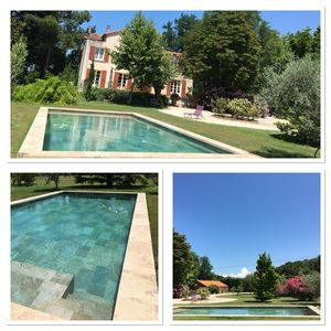 Photo for Beautiful Provencal house with swimming pool and park