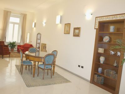 Photo for Luxurious apartment in an ancient noble palace in the historic center of Naples
