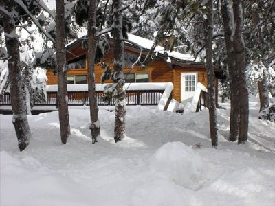 Photo for Classic Tahoe Cabin Just 1 Mile from Squaw Valley Ski Slopes!
