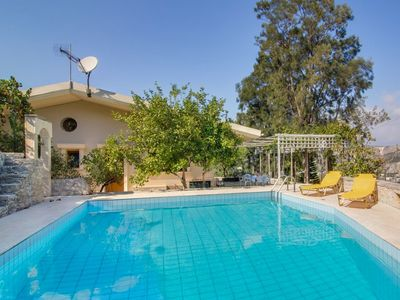 Photo for Luxurious Villa in Malades Crete with Swimming Pool