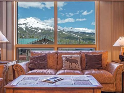 Photo for Stunning Mountain Views w/ Private Hot Tub & Shuttle Access!
