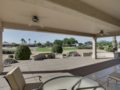 Photo for SUMMER/GOLF COURSE PROPERTY/PRIVATE BACK YARD/GOLF CART/FANTASTIC VIEW/SPECIAL