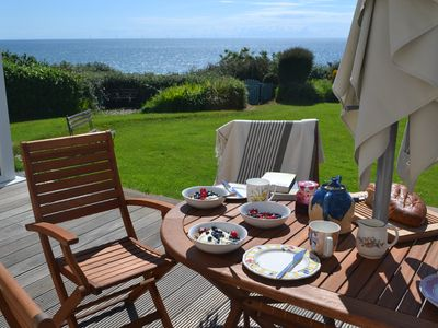 Photo for Beach front Cottage, Golf, Sea & Mountain views - up to 10 guests