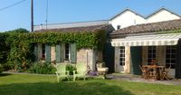 Lovely spacious gite, friendly hosts.