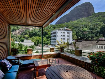 Photo for Rio162 - Sophisticated penthouse with pool in Leblon