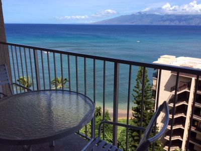 Ahhhhh..... my favorite place for my morning coffee and evening mai tai