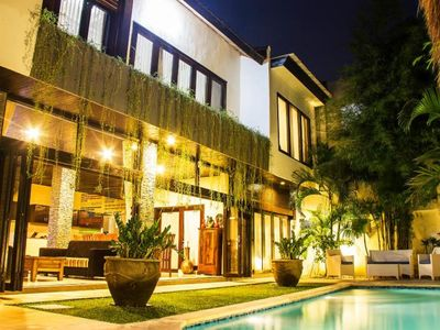 Photo for Ashmik, Family 6BR Villa on 2 Floor Central Seminyak