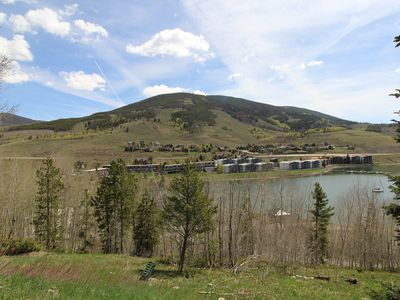 Photo for Two Bedroom with Spectacular View of Lake Dillon