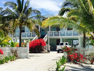 Sugar Palms Island Home Entrance