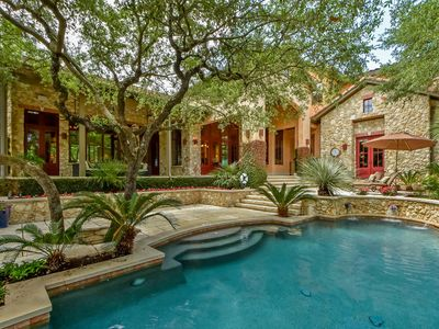 Photo for ARRIVE PRIVATE ATX RESORT ESTATE | Up to 15 Beds | 8 MI to Dwtn | Basketball!