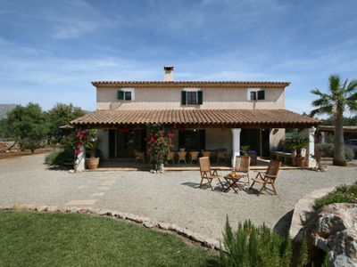 Photo for Beautiful house on the outskirts of Pollensa in a quiet area with private pool