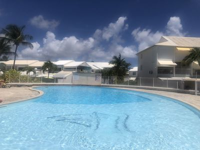 Photo for Studio in residence with 3 pool overlooking the Marina of St. Francis
