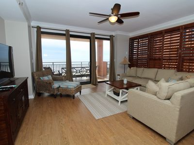 Photo for Seachase 305C- Beach Front Views from Terrace and Luxurious Interior!