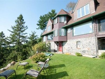 Photo for Far Horizons Luxury Vacation Home in Montebello, Quebec