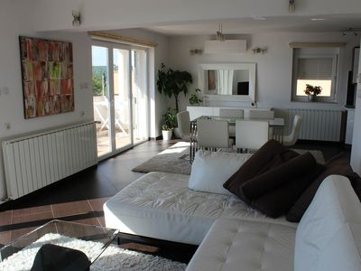 Photo for Fantastic penthouse with breathtaking sea views - Contact to Vermi