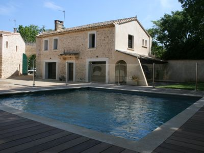 Photo for charming farmhouse with heated pool
