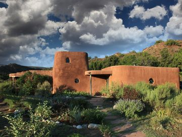 Adobe Home at the Edge of Wilderness