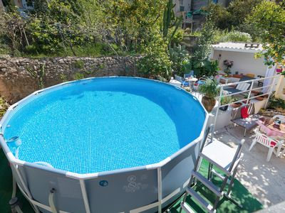 Photo for CA NA POLA - Chalet with above-ground private pool in Búger.