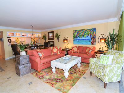 Photo for Special summer pricing! Gorgeous Beachfront Condo at Sanibel Harbour Resort