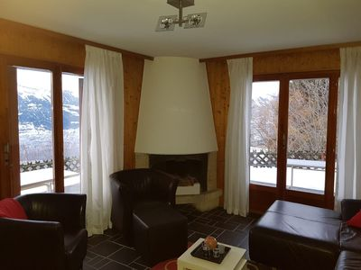 Photo for Nice, large, 5-room apartment 3 ***, for 10 persons at about 600 meters from the cable car in a sunn