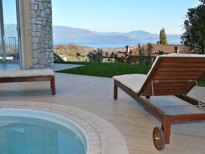 Photo for Casa Castellana With Pool And Lake View - Apartment for 8 people in Puegnago sul Garda