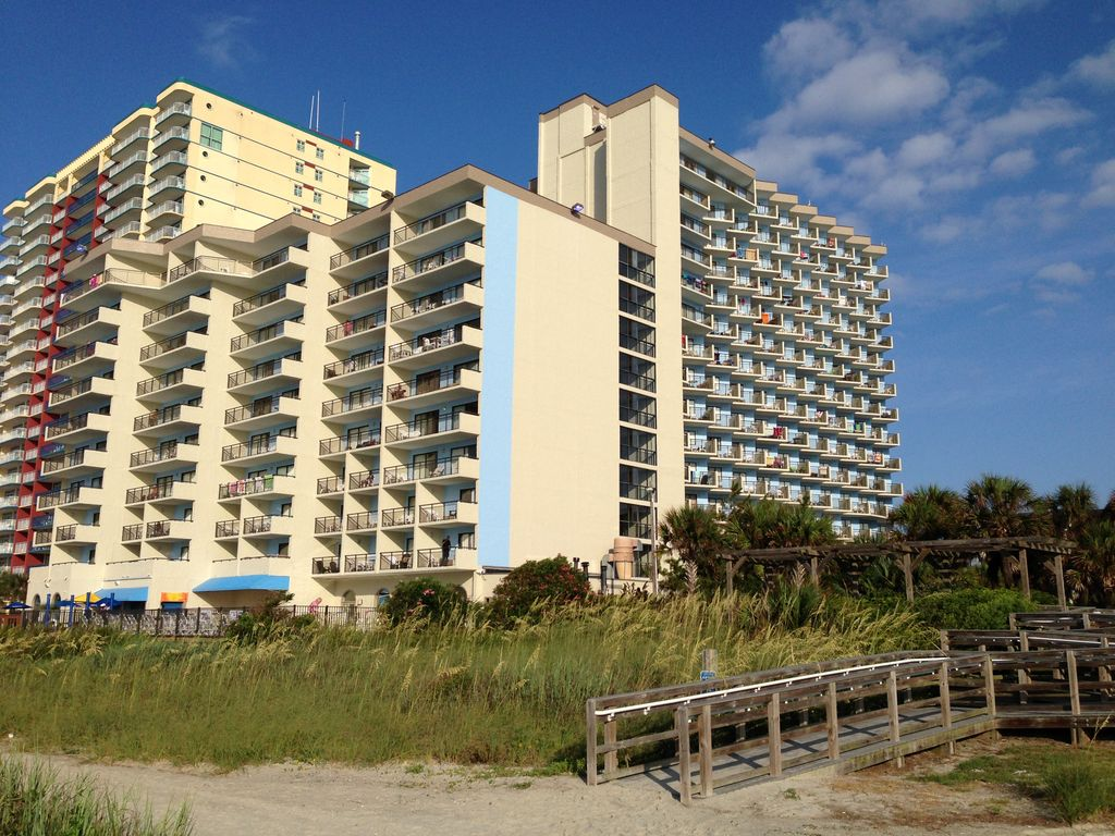 Wake Up With A Wonderful View In Our 2 Bedroom Oceanfront Condo In Myrtle Beach Myrtle Beach