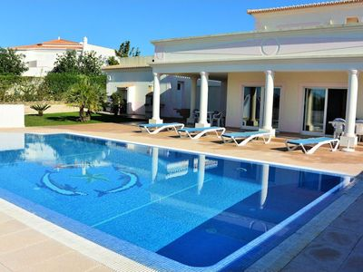 Photo for This stunning recently constructed four bedroom villa is situated in Salicos, a quiet residential ar