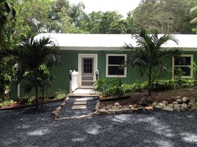 Photo for Bamboo cottage. Fully equipped and centrally located.  Very lush and tropical