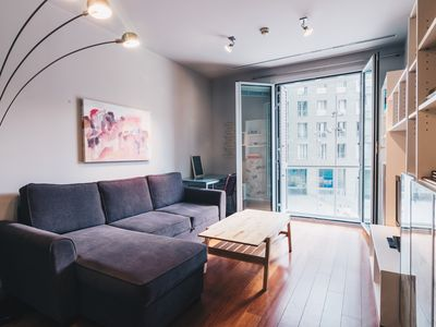 Photo for 1BR Apartment Vacation Rental in Bilbao