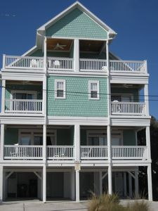 Photo for Bowfin Beach House l- 5BR/5BA One Block from Beach