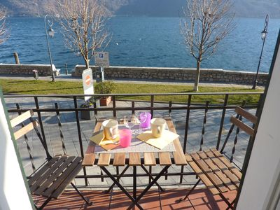 Photo for Centrally located modern 3 bedroom apartment Cannobio with fantastic lake view