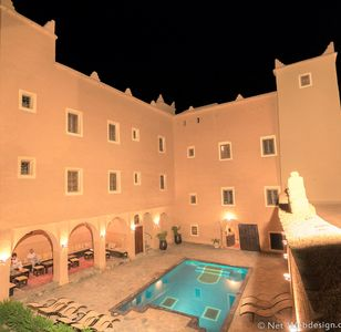 Photo for Kasbah imdoukal is one of the 45 kasabah located in Zagora city