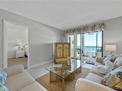 Photo for Riviera Club 706, Gulf Front, 2 Bedrooms,  Sleeps 6, Heated Pool, Elevator