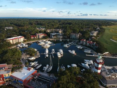 Photo for Harbour Town Penthouse w/Sunset Views over Calibogue Sound