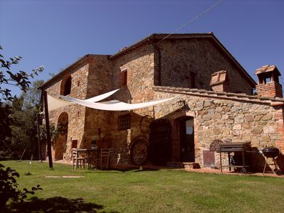 Photo for Beautiful farmhouse in the hills of Siena for 7 persons with pool