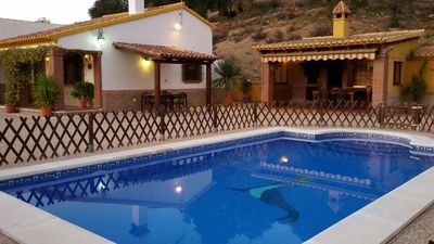 Photo for Ideal for families. Private swimming pool. Andalusian house Very close to Málaga