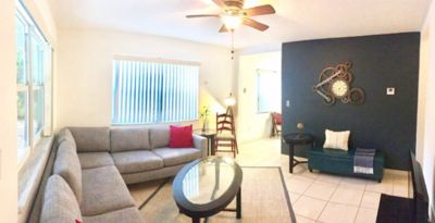 Photo for The Peacock Oasis - Entire Duplex with Backyard & Palapa | 4 bedroom 2 Bath